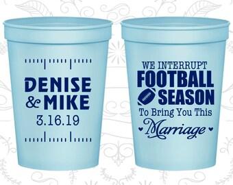 Light Blue Stadium Cups, Light Blue Cups, Light Blue Party Cups, Light Blue Wedding Cups (314)