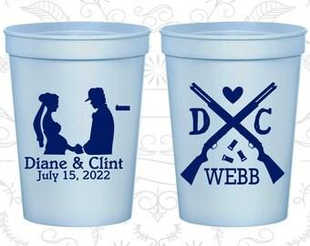 Light Blue Stadium Cups, Light Blue Cups, Light Blue Party Cups, Light Blue Wedding Cups (562)