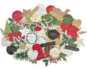 Kaisercraft Home For Christmas Collectables Die Cut Shapes