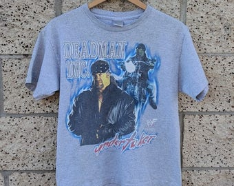 Vintage WWF Undertaker t-shirt