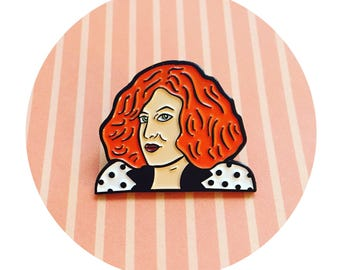 Sadie, Bette Midler, Big Business Enamel Pin