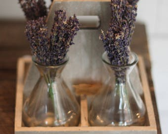 Tabletop Lavendar Vase Set