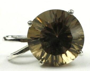 On Sale, 30% Off, Smoky Quartz, 925 Sterling Silver Pendant, SP089