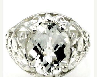 On Sale, 30% Off, Silver Topaz, Sterling Silver Ring, SR004