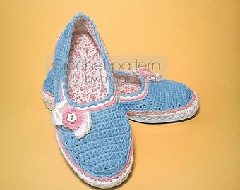 Crochet pattern : women outdoor shoes,espadrilles,all women sizes,crochet shoes with rubber soles,women,adult,girl,shoemaking