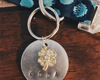 Handmade Personalized Pet ID Tag