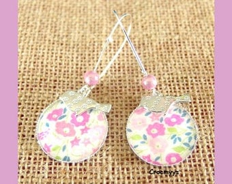 Big earrings liberty faiford pink