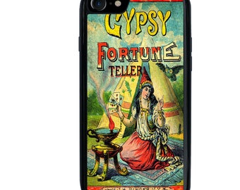 iPhone 5 5s 6 6s 6+ 6s+ SE 7 7+ iPod Touch 5 6 Phone Case, Gypsy Fortune Teller Image Design, Plus