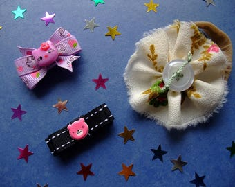 Hello Kitty Bow, Baby Girl, Baby Hair Bows, Hair Bows, Bows, Pretty Bows, Hair Accessories, Hair Care, Grosgrain Bows,