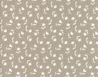 Farmer's Daughter - Bloom Toss Taupe by Vanessa Goertzen of Lella Boutique for Moda, 1/2 yard, 5051 13