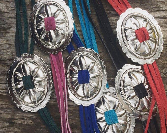 Concho Necklaces