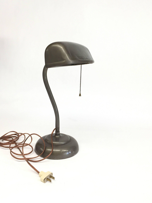 Vintage bankers desk lamp - Details Antique Bronze Bankers Desk Lamp
