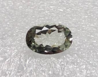 Light Green Amethyst Stone 15x10x7 mm Prasiolite Amethyst ,Faceted Green Amethyst Stone Calibrated Faceted Gemstone