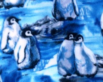 Penguin Chicks Fleece Throw Blanket
