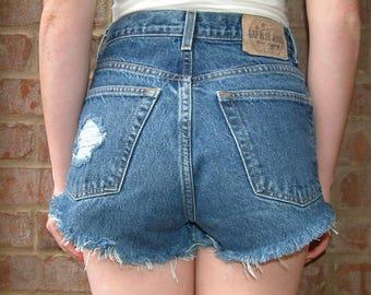 Gap Vintage Denim High Waisted Short - S
