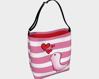 Day Tote, Birdy's heart