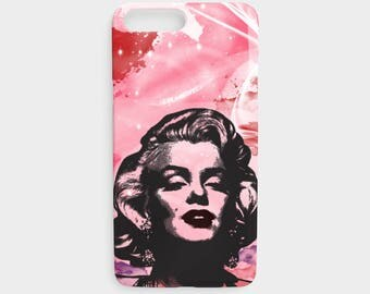 Marilyn Monroe iPhone Case, iPhone 5/5s, iPhone 6/6s, iPhone 6plus/6splus, iPhone 7/8, iPhone 7plus/8plus, actress, hollywood, Star, monroe