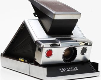 Polaroid SX-70 SX 70 Instant Film Land Camera Takes Impossible Project Film Made In USA 1970s Fully Operational