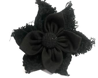 Kylo Ren Inspired Hair Flower, Star Wars, Hair Accessory, Geek