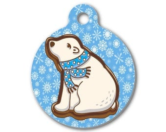 Polar Bear Charm | Birthday Gift | Christmas Gift | Stocking Stuffer | Create Your Own Necklace