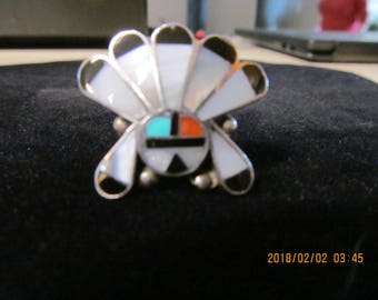 Vintage Native American silver ring
