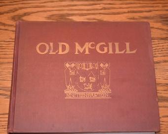 Vintage McGill University 1914 yearbook, Montreal Quebec Canada