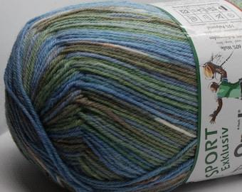 Beach Glass 9562  - Sport Exklusiv 4 ply Sock Yarn by Opal - sock wool - sokenwolle