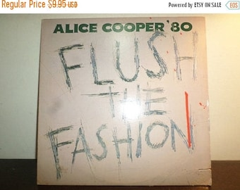 Save 30% Today Vintage 1980 Vinyl LP Record Flush the Fashion Alice Cooper Good Condition 9004