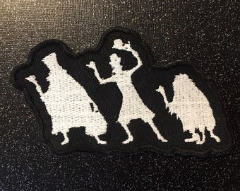 Disney Haunted Mansion Hitchhiking Ghosts iron-on embroidered patch