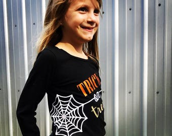 Trick Or Treat Long Sleeved Tshirt