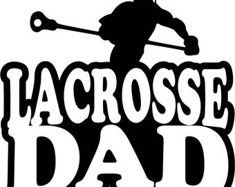 Lacrosse Dad Boy Player T Shirt/ Lacrosse Dad Shirt/ Lacrosse Dad Clothing/ Lacrosse Dad Gift/ Lacrosse Dad/ Male Lacrosse Player/ Lacrosse