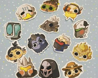 Derpy Overwatch Stickers