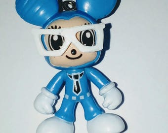 Miss Mouse Blue 3D and 40mm glasses