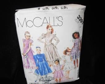 Childs Petticoat McCalls 3391 Girls Size 8 Dress