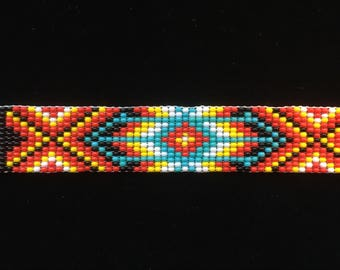 Native American Made Beaded Bracelet