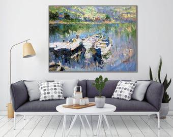 Fishing Boat Painting