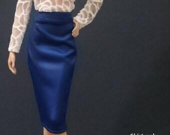 Skirt for Barbie,Muse barbie,LIV dolls, FR, Silkstone - No.0302