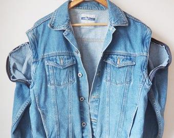 Jean jacket - Vintage | Etsy CA