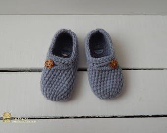 Hand knit socks/slippers, Knitted Wool Socks, knitted slippers socks, socks for home, socks for sleep
