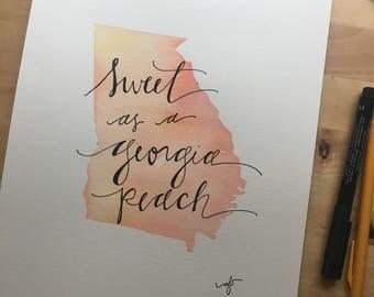 Sweet as a Georgia Peach a