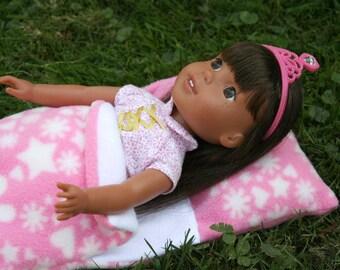 "14"" Doll Wellie Wisher Ashlyn Inspired Sleeping Bag"
