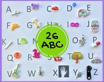 ABC 26 Objetos para abecedario - serie 4
