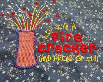 Fire Cracker Bib