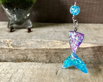Mermaid Necklace with Glow-in-the-Dark Beads