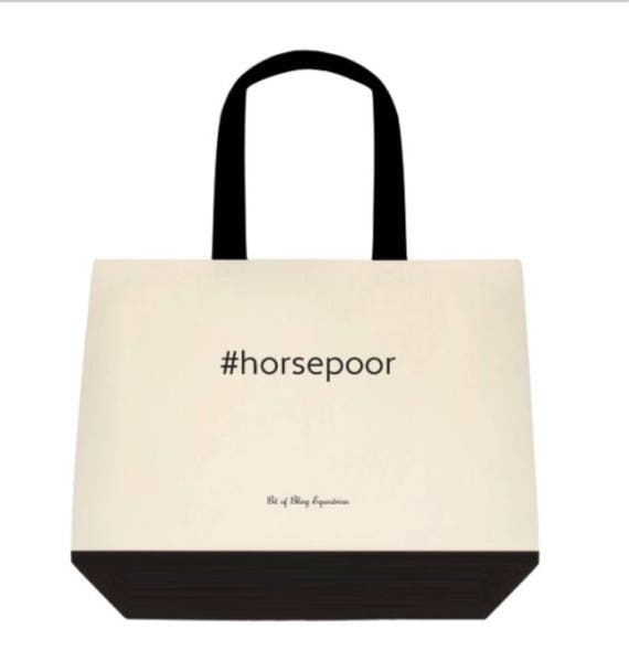 Horse Poor Tote Bag