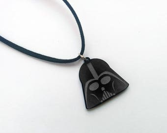 Darth Vader Necklace, Darth Vader Charm, Star Wars Jewelry, Star Wars Pendants, Geeky Gifts, Geeky Wear