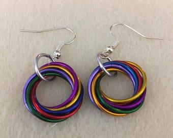 Mobius Pride Earrings