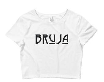 Witch Clothing BRUJA black crop top