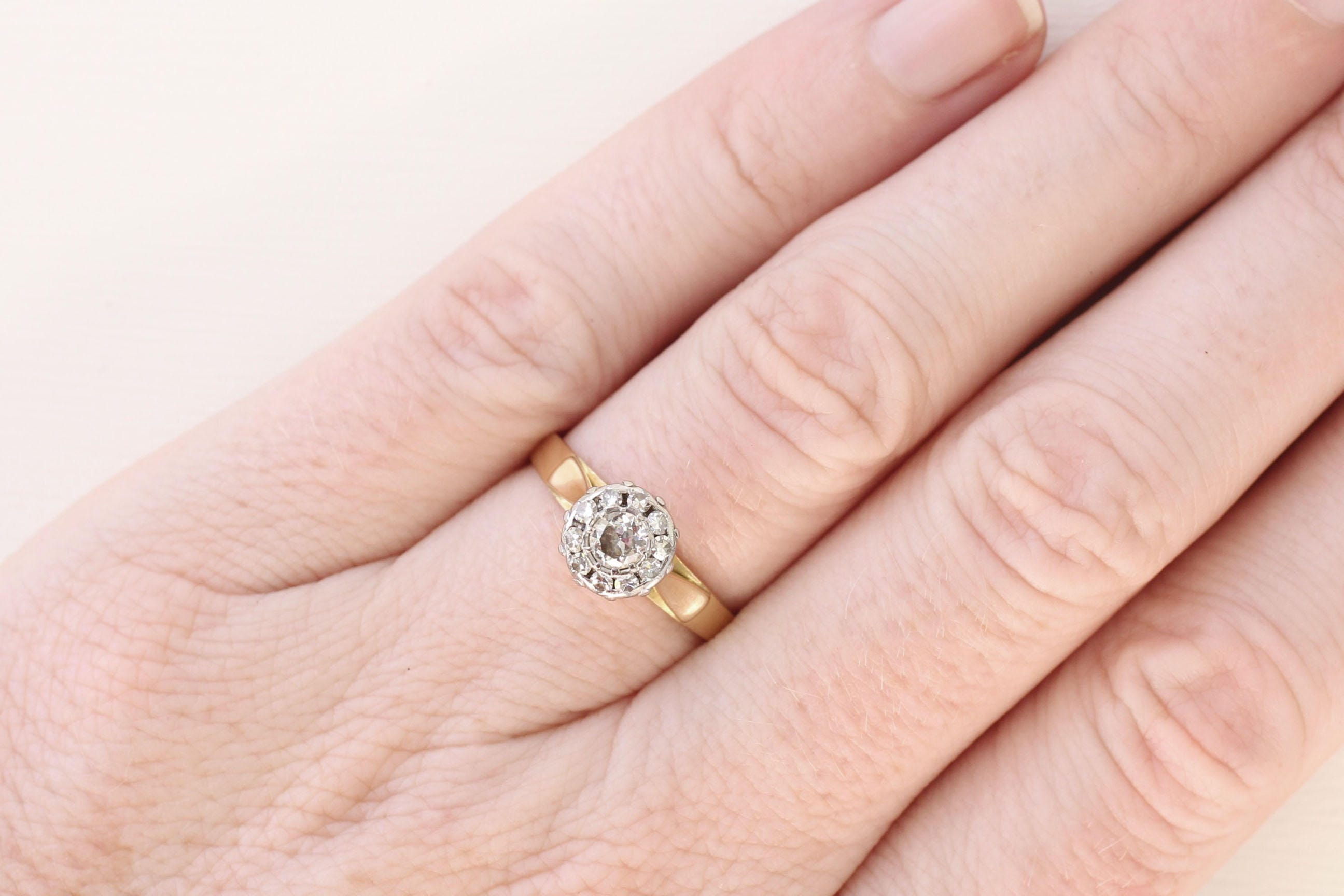 wedding profile brown jubille the solitaire ring jubilee cathedral gold anniversary portfolio rings rose goldsmiths engagement pink in