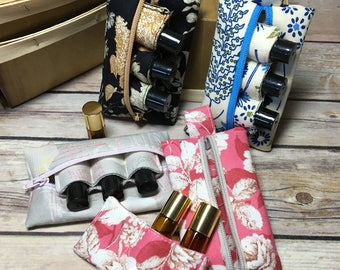 Essential Oils bag, Essential Oil pouch,Essential Oil insert, essential oil travel, essential oil blends,10ml roller bottle, 3 ml bottle